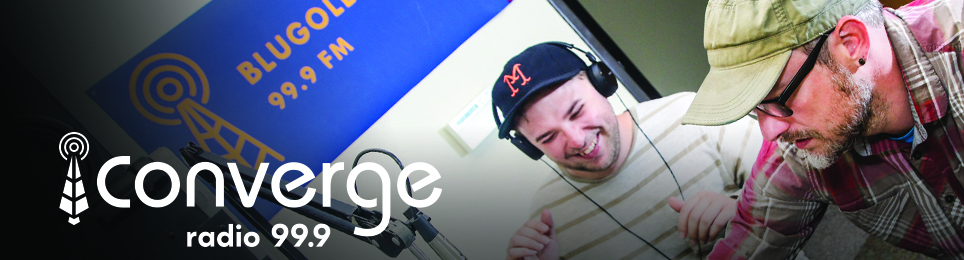 Give online to Converge/Blugold Radio 99.9