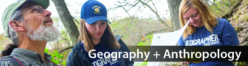 Give online to the UW-Eau Claire Geography and Anthropology Department
