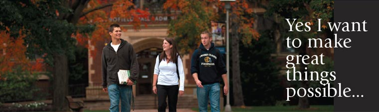 Give to University of Wisconsin-Eau Claire